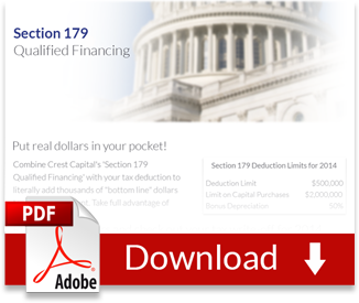 Section179 Financing Profit